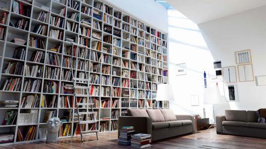 meuble bibliothèque grande hauteur