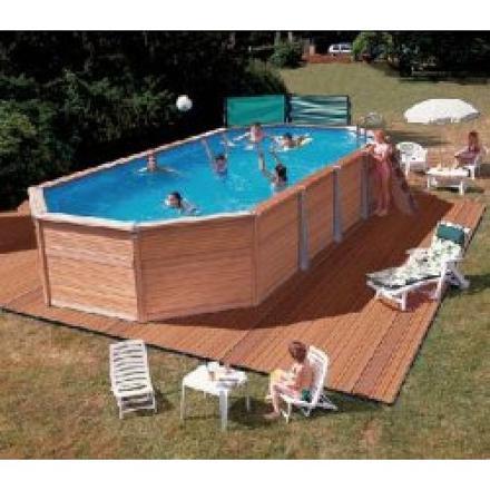 piscine hors sol ovale