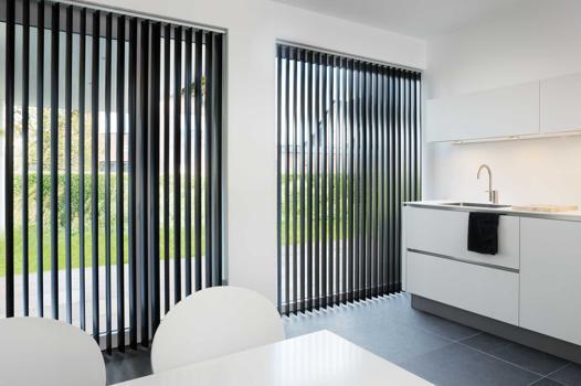 rideaux lamelles verticales