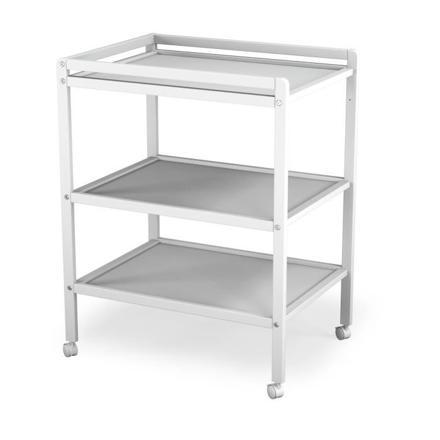 table à langer blanc
