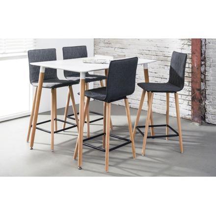 table haute 4 personnes