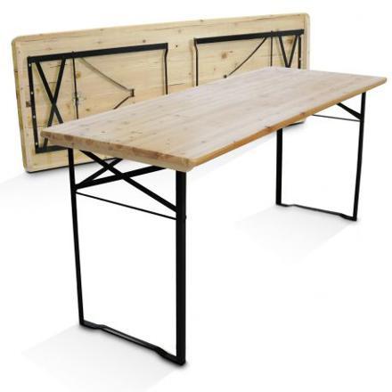 table pliante bois