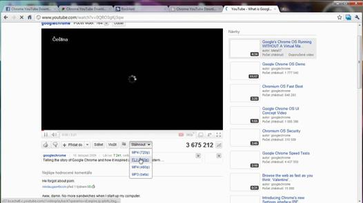 youtube chrome