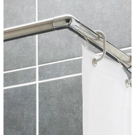 barre rideau de douche angle