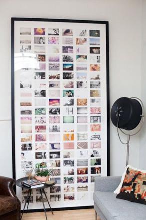 cadre photo géant