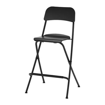 chaise bar pliante