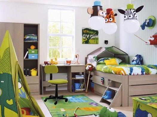chambre garçon 4 ans
