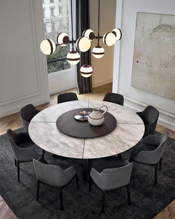 grande table ronde salle a manger