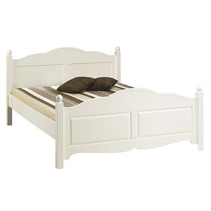 lit blanc 2 personnes