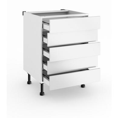 meuble bas cuisine tiroir