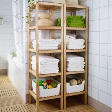 meuble serviette salle de bain