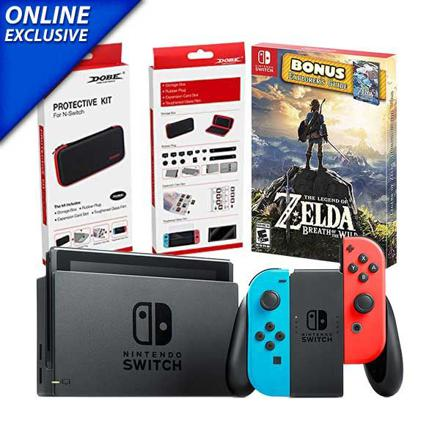 pack nintendo switch zelda