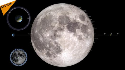 photo de la lune