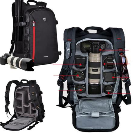 sac à dos appareil photo