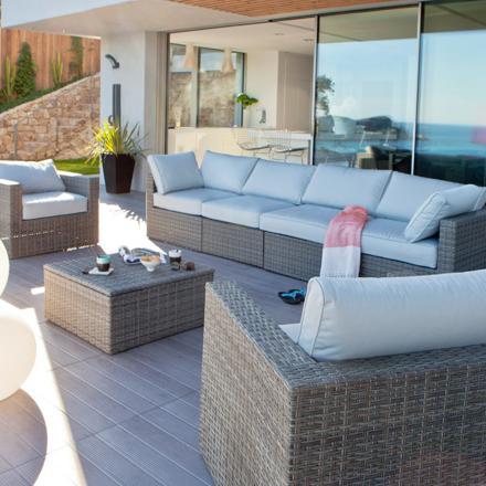 salon pour terrasse exterieur