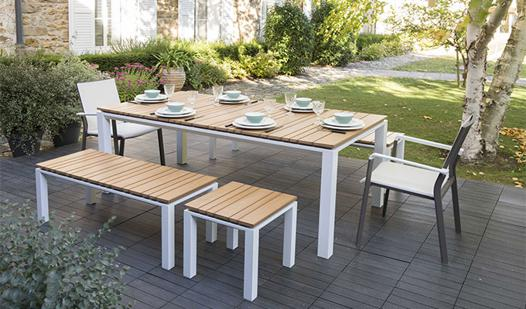 table jardin exterieur